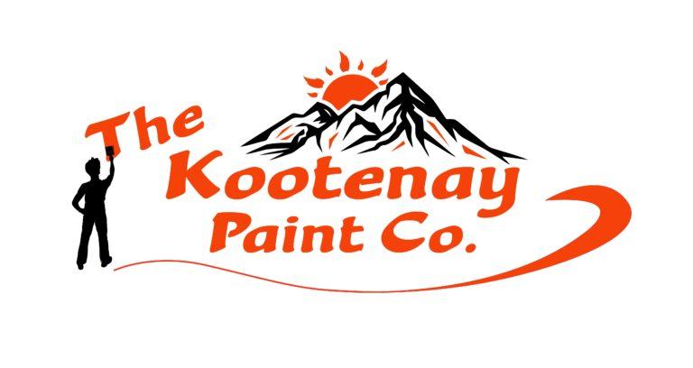 Kootenay Paint Co - White Background Logo