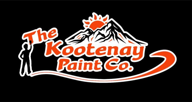 Kootenay Paint Co - Black Background Logo
