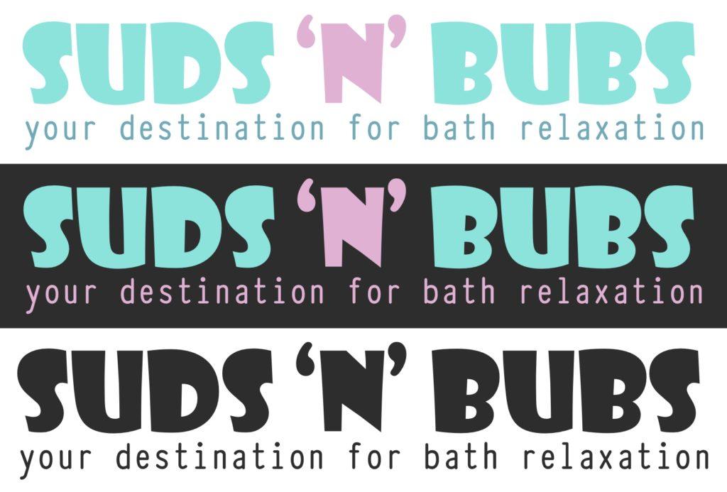 Suds n Bubs Logos