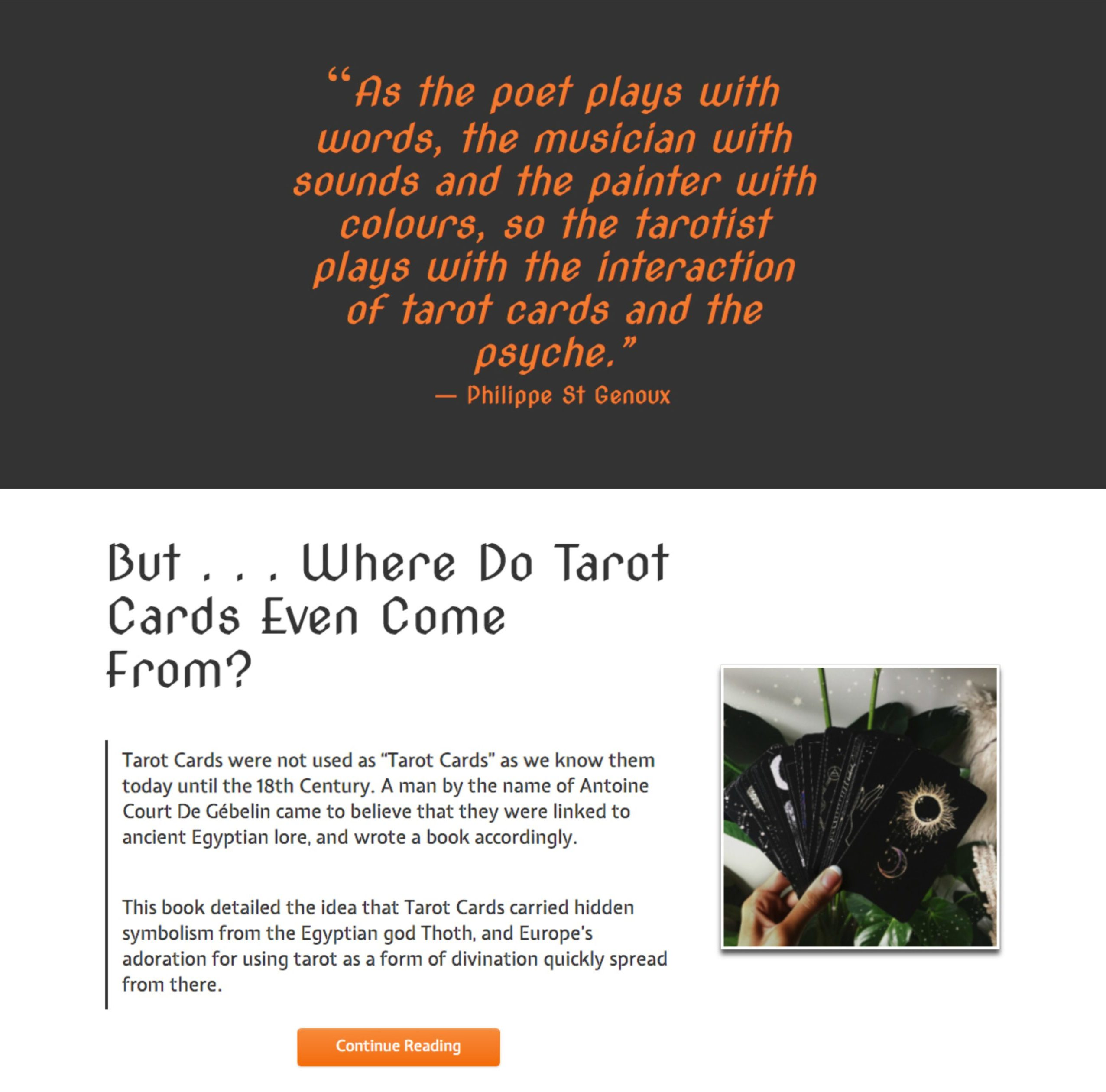 WitchyPath Website 2